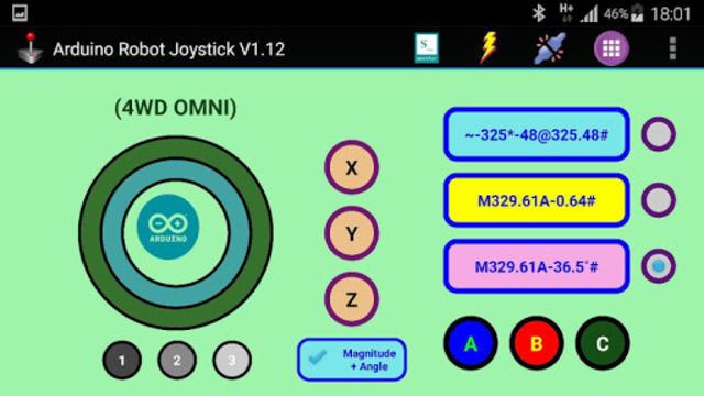 Arduino Robot Joystick screenshot 4