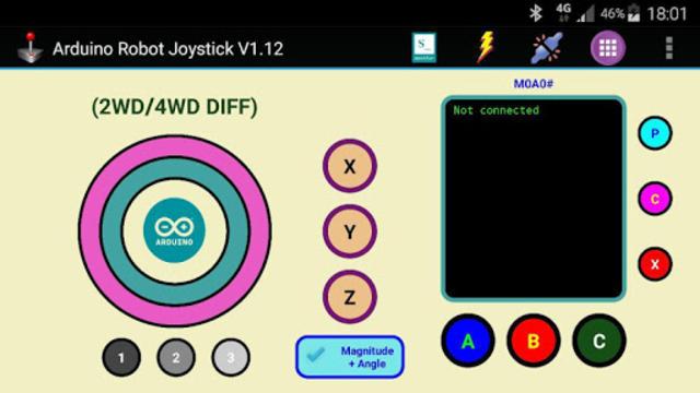 Arduino Robot Joystick screenshot 6
