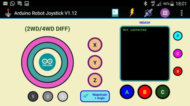 Arduino Robot Joystick screenshot 7