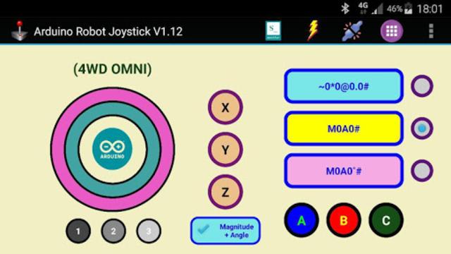 Arduino Robot Joystick screenshot 11