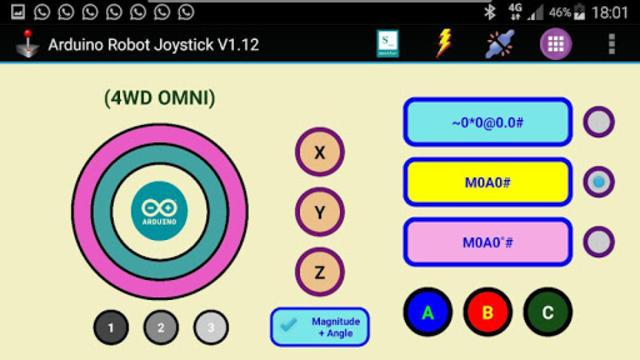 Arduino Robot Joystick screenshot 19