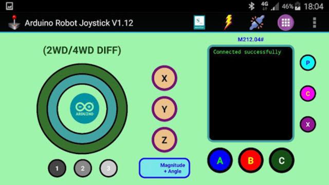 Arduino Robot Joystick screenshot 21