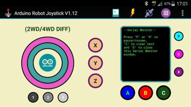 Arduino Robot Joystick screenshot 22
