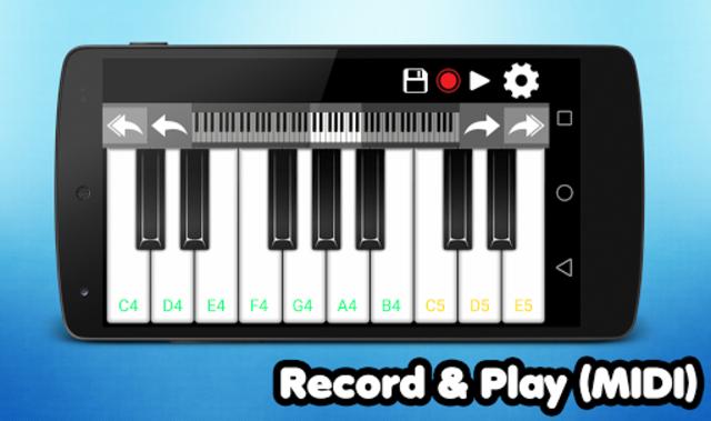 Piano screenshot 2