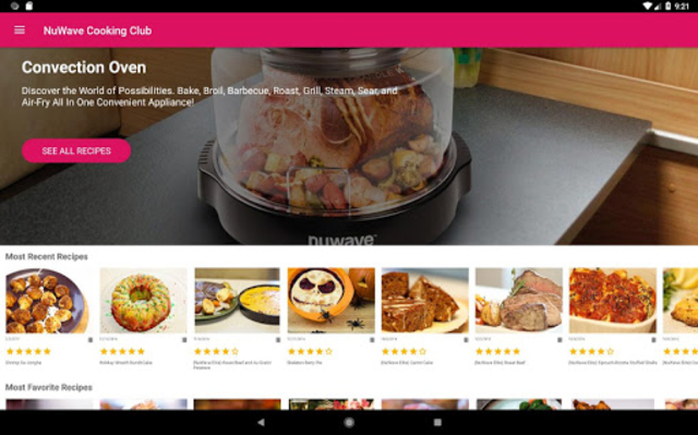 NuWave Cooking Club screenshot 7