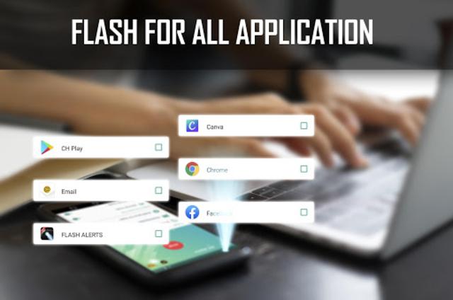 Flash alert for all notification -Sms alert flash screenshot 5