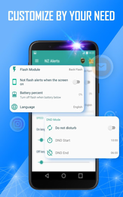 Flash alert for all notification -Sms alert flash screenshot 6