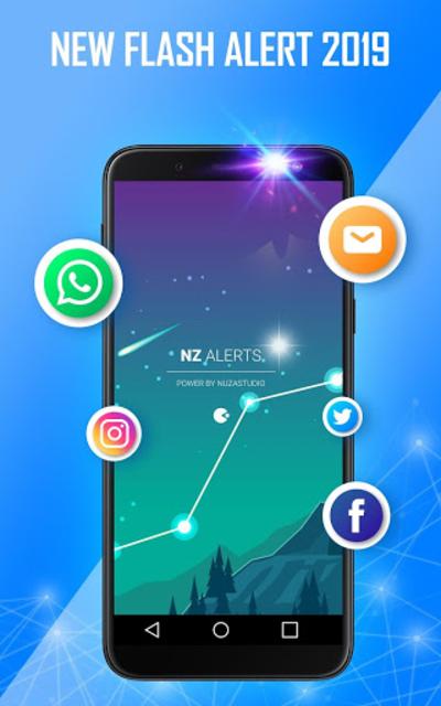 Flash alert for all notification -Sms alert flash screenshot 8