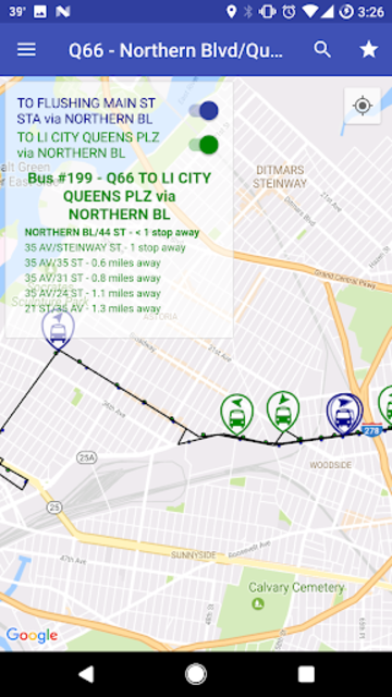 NYC Live Bus Tracker & Map screenshot 8