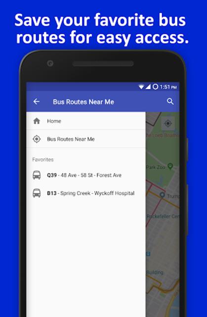 NYC Live Bus Tracker & Map screenshot 5