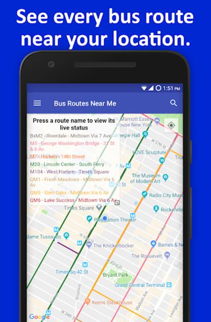 NYC Live Bus Tracker & Map screenshot 6