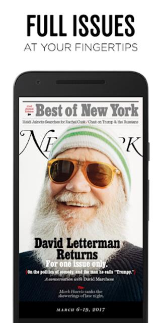NEW YORK MAGAZINE screenshot 1