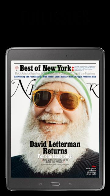 NEW YORK MAGAZINE screenshot 9
