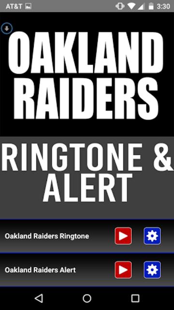 Oakland Raiders Theme Ringtone screenshot 1