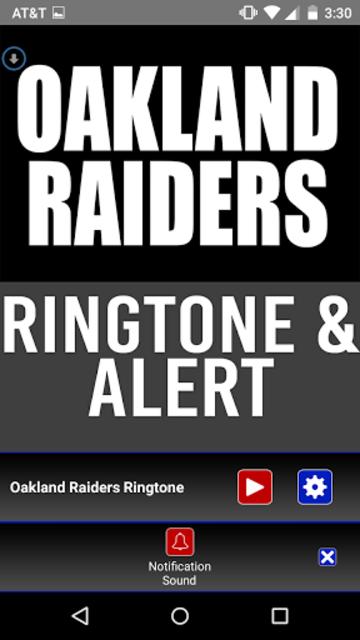 Oakland Raiders Theme Ringtone screenshot 3