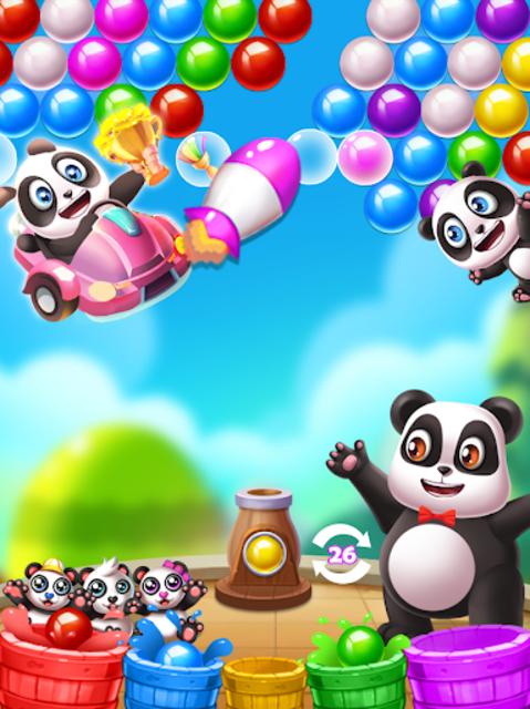 Panda Bubbles Hunter screenshot 2