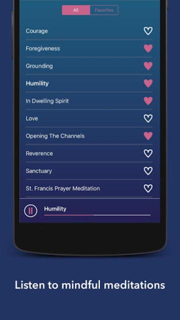 Mindful Living Meditations screenshot 1