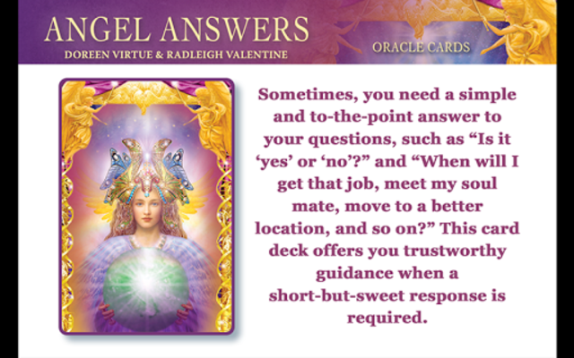 Angel Answers Oracle Cards screenshot 1