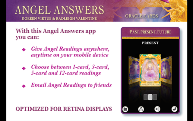 Angel Answers Oracle Cards screenshot 2