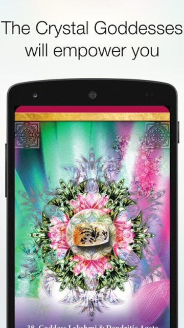 Crystal Mandala Oracle screenshot 2