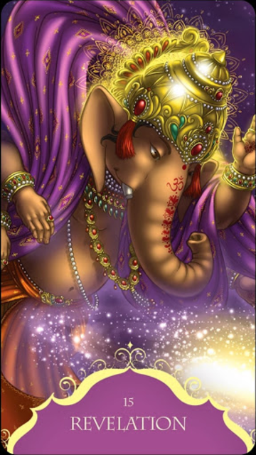 Whispers of Lord Ganesha Oracle Card Deck screenshot 3