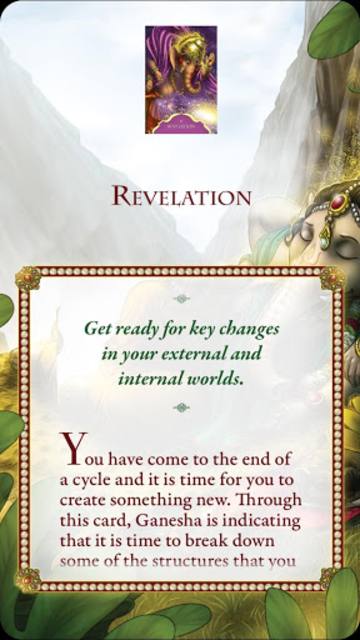 Whispers of Lord Ganesha Oracle Card Deck screenshot 4