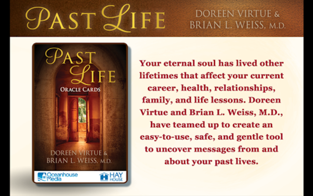 Past Life Oracle Cards screenshot 1