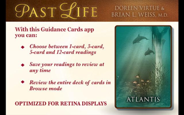 Past Life Oracle Cards screenshot 2