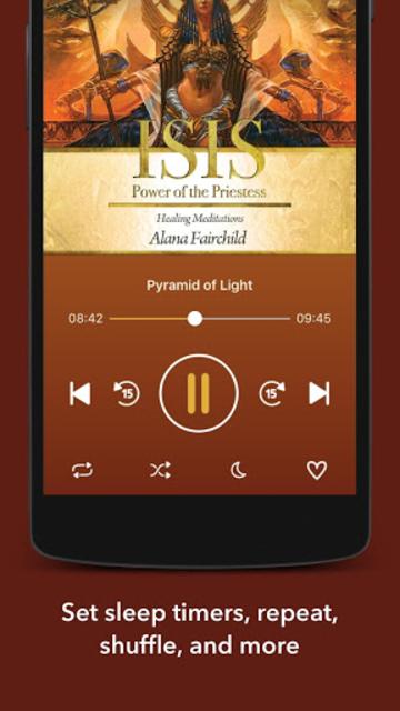 Isis Power of the Priestess Healing Meditations screenshot 2