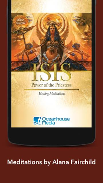 Isis Power of the Priestess Healing Meditations screenshot 10