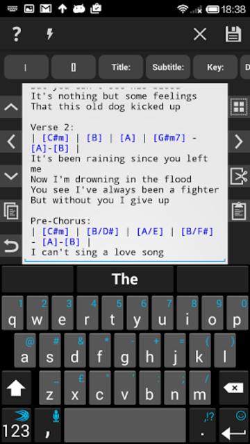 Chordbase screenshot 4
