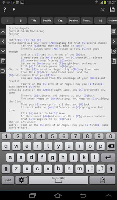 Chordbase screenshot 7