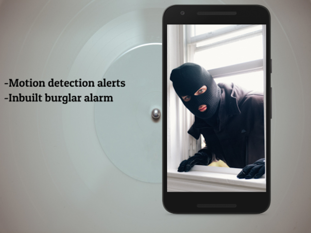 CCTV Home Security Camera Using Mobile -Odineye screenshot 2