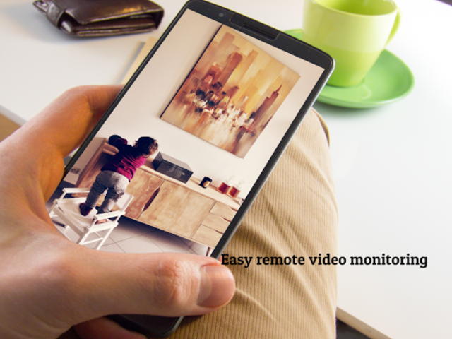 CCTV Home Security Camera Using Mobile -Odineye screenshot 4