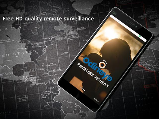 CCTV Home Security Camera Using Mobile -Odineye screenshot 5
