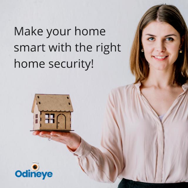 CCTV Home Security Camera Using Mobile -Odineye screenshot 7