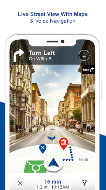 Offline Maps & Voice Navigation:GPS Route Finder screenshot 2