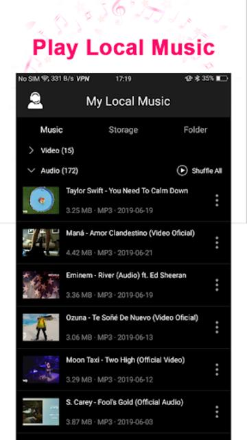 Tuner Radio Pro - Free MP3 Video Podcasts Streamer screenshot 5