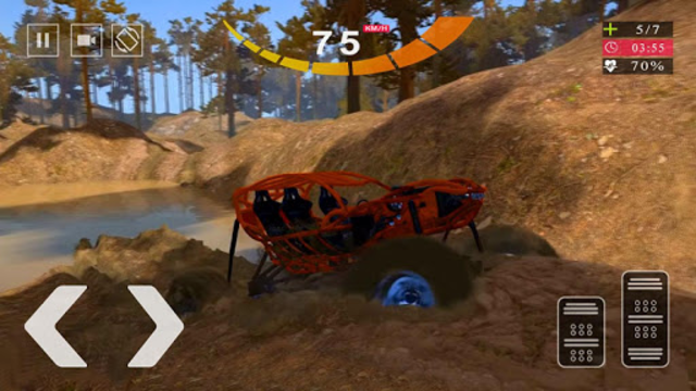 Vegas Offroad Buggy Chase - Dune Buggy Simulator screenshot 5