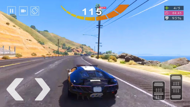 Police Car Simulator 2020 - Police Car Chase 2020 screenshot 2