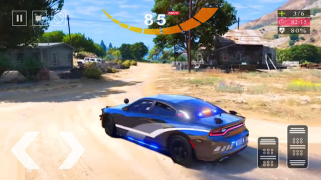 Police Car Simulator 2020 - Police Car Chase 2020 screenshot 8