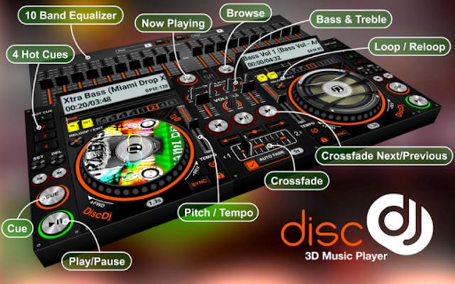 DiscDj 3D Music Player - 3D Dj Music Mixer Studio screenshot 5