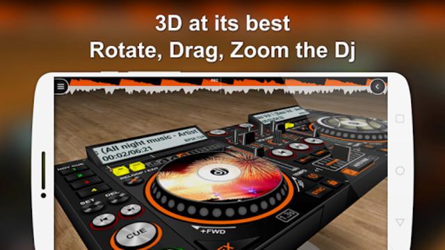 DiscDj 3D Music Player - 3D Dj Music Mixer Studio screenshot 1