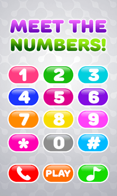 Baby Phone for Kids - Learning Numbers and Animals screenshot 1