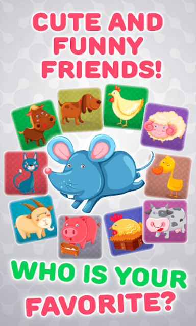 Baby Phone for Kids - Learning Numbers and Animals screenshot 2