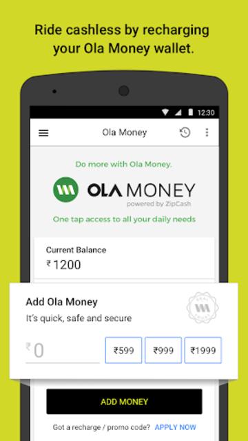 Ola. Get rides on-demand screenshot 7