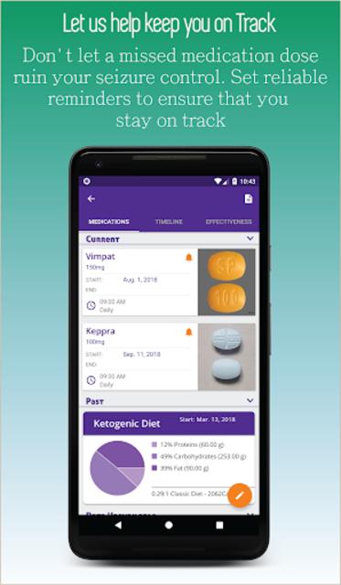Epilepsy Journal screenshot 5