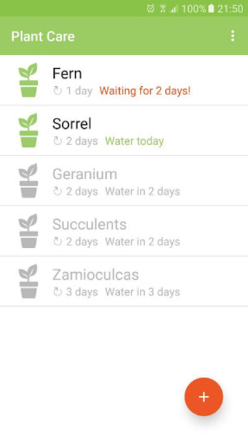 Plant Care screenshot 1