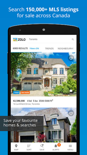 Real Estate in Canada by Zolo screenshot 1
