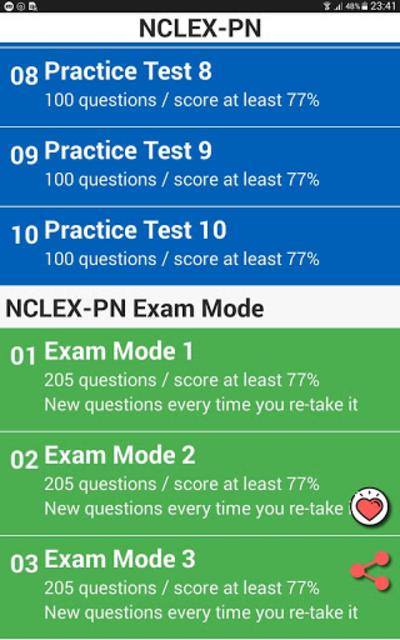 NCLEX PN screenshot 24